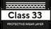 Class 33 Strato di usura